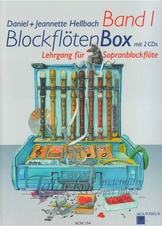 Blockflöten Box Band 1 (sop.fl.)+ 2CD