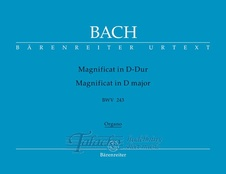 Magnificat D major BWV 243 - organ