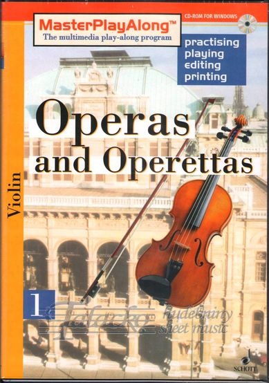 Operas and Operettas 1 for Violin, CD-ROM