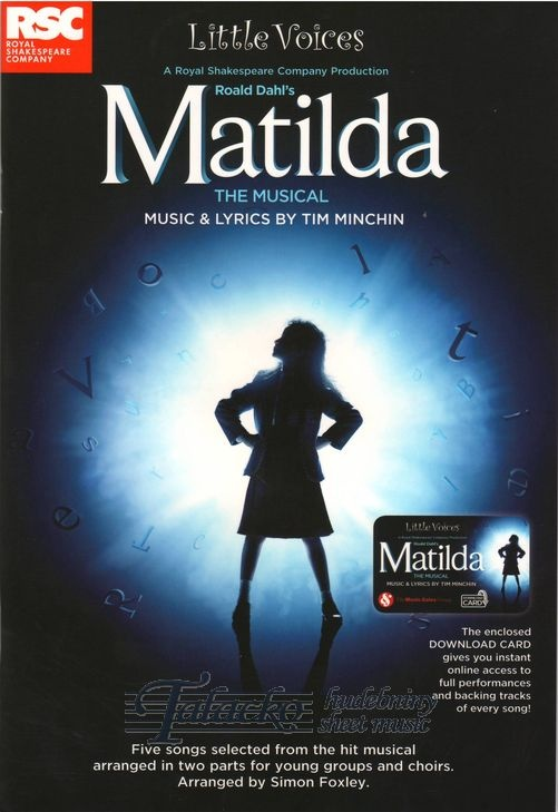 Little Voices - Matilda The Musical (Book/Audio download)