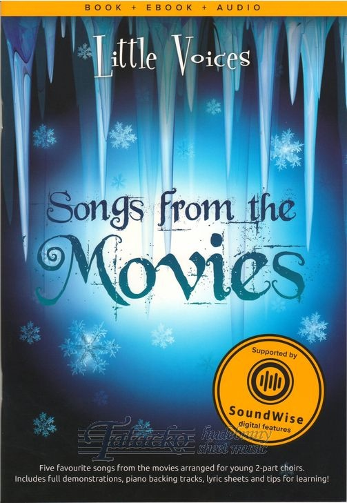 Little Voices - Songs from the Movies (Book/Media)