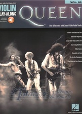 Violin Play-Along Volume 68: Queen (Book/Online Audio)