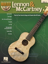 Ukulele Play-Along Volume 6: Lennon & McCartney + CD