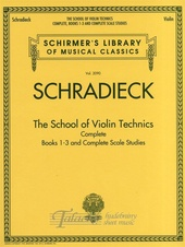 School of Violin Technics Complete