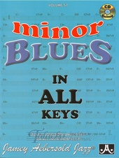 Aebersold Volume 57: Minor Blues In All Keys + CD