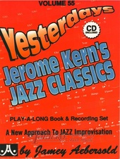 Aebersold Volume 55: Jerome Kern's Jazz Classics + CD