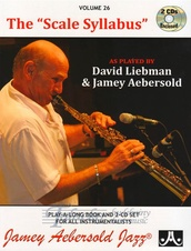"Jamey Aebersold Jazz, Volume 26: The ""Scale Syllabus"" + 2CD"