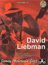Aebersold Volume 19: David Liebman + CD