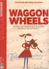 Waggon Wheels - 26 Pieces for Viola Players (with piano acc. + audio download)