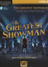 Instrumental Play-Along: Greatest Showman - Viola (Book/Online audio)