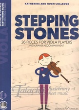 Stepping Stones - 26 Pieces for Viola Players (with piano acc. + audio download)