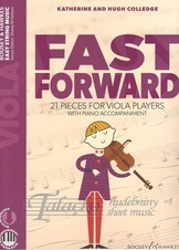 Fast Forward - 21 Pieces for Viola Players (with piano acc. + audio download)