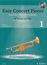 Easy Concert Pieces for Trumpet and Piano 1 + CD
