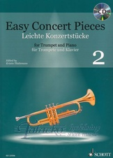 Easy Concert Pieces for Trumpet and Piano 2 + CD