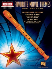 Favorite Movie Themes: Recorder (2nd edition)