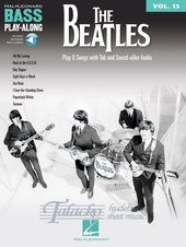 Bass Play-along Volume 13: The Beatles (Book/Online audio)