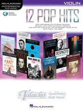 Hal Leonard Instrumental Play-Along: 12 Pop Hits - Violin (Book/Online Audio)