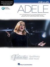 Hal Leonard Instrumental Play-Along: Adele - Cello (Book/Online Audie)