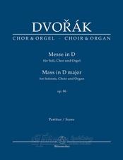Mass in D major D major Op. 86