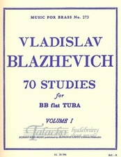 70 Studies for BB flat Tuba Volume 1