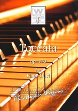 Toccata Op. 170 for Piano Duet