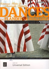 Dances from Flanders & Wallonia for accordion