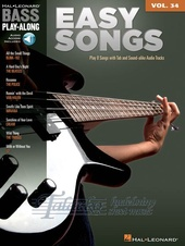 Bass Play-Along Volume 34: Easy Songs (Book/Online Audio)