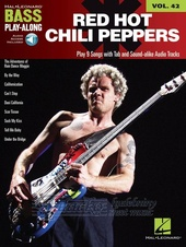 Bass Play-Along Volume 42: Red Hot Chilli Peppers (Book/Online Audio)