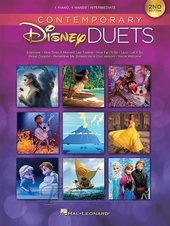 Contemporary Disney Duets - 2nd Edition: Piano Duet