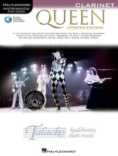 Instrumental Play-Along: Queen - Clarinet (Book/Online Audio)