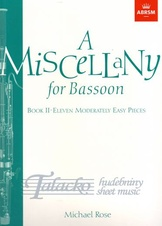 Miscellany for Bassoon, Book II