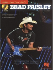 Signature Licks Guitar: Brad Paisley + CD