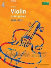 Selected Violin Exam Pieces 2008-2011 Gr. 4 - part only