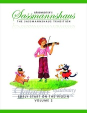 Baerenreiter's Sassmannshaus - Early Start on the Violin, Volume 2