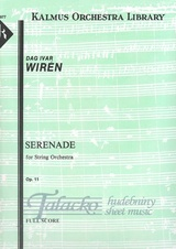 Serenade for Strring Orchestra op. 11, VP