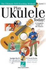 Play Ukulele Today! Level 1 + CD