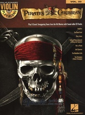 Violin Play-Along Volume 23: Pirates Of The Caribbean (Book/Online Audio)