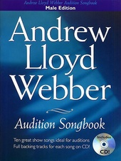Andrew Lloyd Webber Audition Songbook (Male Edition) + CD
