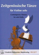 Contemporary Dances for solo Violin