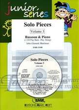 Solo Pieces volume 3 for bassoon and piano + CD