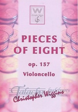 Pieces of eight op.157 (Violoncello)