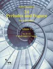 24 Preludes and Fugues for solo guitar Volume 2
