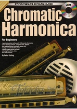 Progressive Chromatic Harmonica + CD