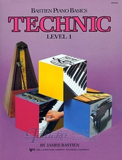 Bastien Piano Basics: Technic Level 1