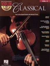 Violin Play-Along Volume 3: Classical + CD