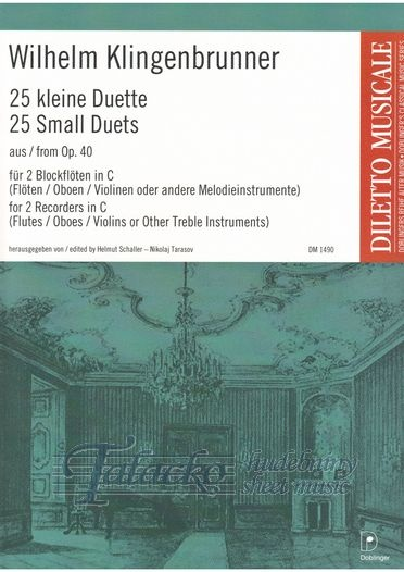 25 Small Duets from op. 40