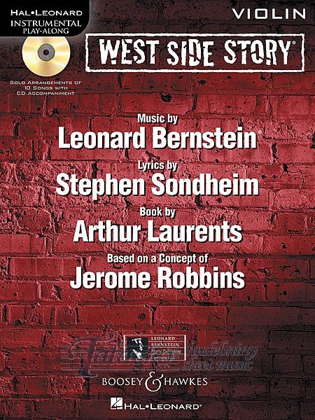 West Side Story Play-Along + CD (violin)