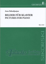 Pictures for piano