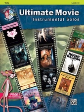 Ultimate Movie Instrumental Solos: Viola + CD