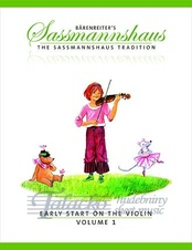 Baerenreiter's Sassmannshaus - Early Start on the Violin, Volume 1